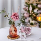 로맨틱 핑크로즈 골든 유칼립투스 디퓨저 고급포장 선물용 방향제 식물성 발효주정 100ml 150ml