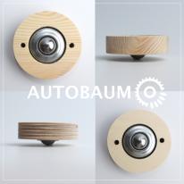 DIY가구-디자인목재바퀴 (볼형)