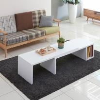 마룬 멀티 확장형 테이블 1200