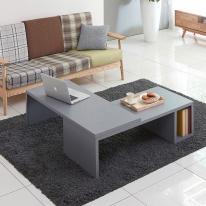 마룬 멀티 확장형 테이블 800