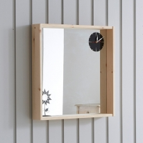 타임 시계 벽거울