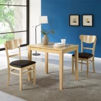 프랑코 2인식탁세트(의자2개포함)