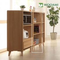 아가베600 오픈형 주방수납장