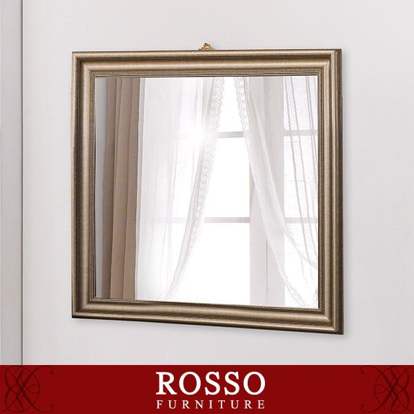 클래식 골든 사각 반신거울-벽걸이형