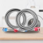 세탁기 급수 연결 호스 (냉수,온수) S전자