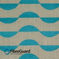 FibreGuard South Beach 08-Azure 화이버가드 벨기에 소파원단 이지클린