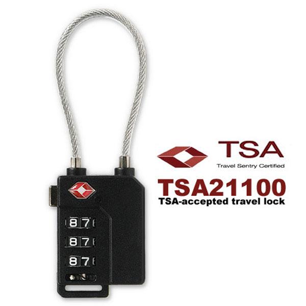 [HICKIES] 3중번호잠금 와이어자물쇠 TSA21100