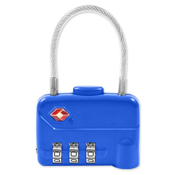 [HICKIES] TSA 3중번호 와이어 자물쇠 CLUTCH