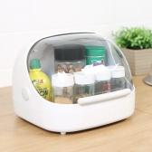 일본생산 주방 식탁 식료품 정리 먼지차단 커버보관함