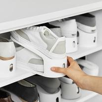 깔금한현관 신발정리 공간활용 슈즈홀더 신발정리대 10EA