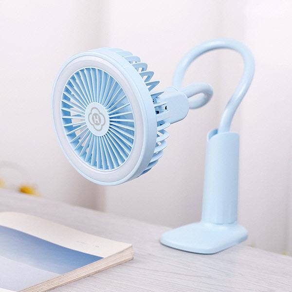 [비치백증정] KC인증 책상침대 LED램프 선풍기 Tropical