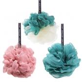 부드러운 거품생성 목욕 샤워볼 꽈배기 컬러 버블팝