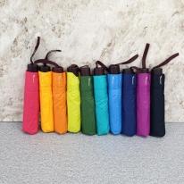 폰지나무손잡이 3단우산 (색상랜덤)