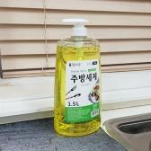 맑은하루 1종 주방세제 (1.5L) 레몬향