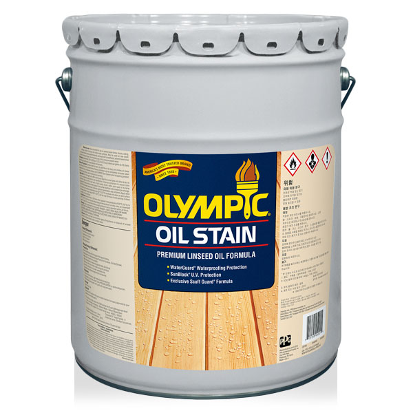 올림픽 프리미엄 오일스테인 18.9L