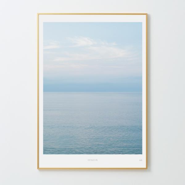 인테리어액자 타이드 아트프레임 바다 #1 (A1/A2 Size)