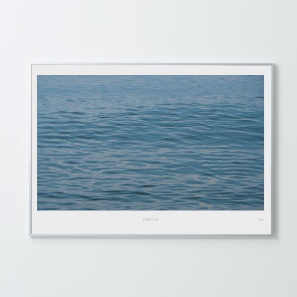 인테리어액자 타이드 아트프레임 바다 #5 (A1/A2 Size)