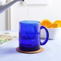 타이완글라스 코발트머그컵350ml