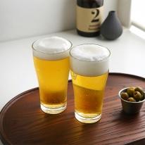 럭키글라스 엠파이어 맥주 쥬스유리컵 385ml
