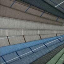 COTTAGE 체크무늬 (6 색상) 스페인 아웃도어 패브릭 - 방수, 자외선 및 색바램 방지 기능성 패브릭