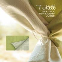 TWITELL (19 색상-양면) 스페인 아웃도어 패브릭 - 방수, 자외선 및 색바램 방지 기능성 패브릭