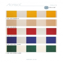 JAVA (줄무늬) 스페인 아웃도어 패브릭 - 방수, 자외선 및 색바램 방지 기능성 패브릭