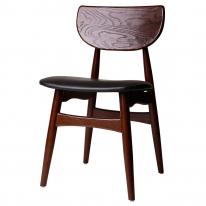 모던 카페 인테리어 원목 의자