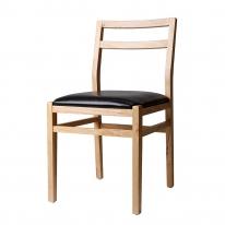 모던 라인 인테리어 원목 의자