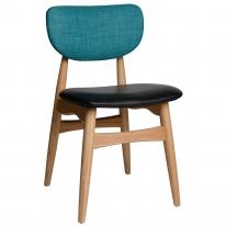 모던 투톤 인테리어 원목 의자