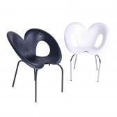 심플 뫼비우스 인테리어 플라스틱 디자인 의자