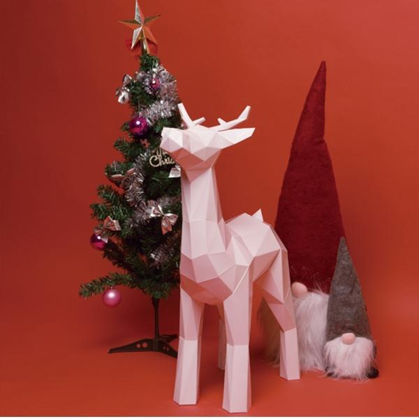 페이퍼크래프트 루돌프 Papercraft Rudolph