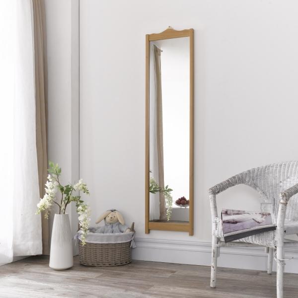 래핑 전신 벽걸이형 거울