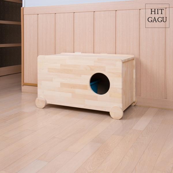 마이펫츠 베이직원목화장실(배변통 포함)