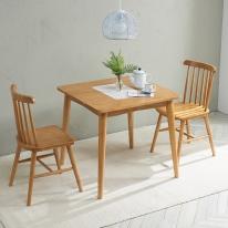 레시피 2인 식탁(의자미포함)