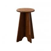 한스 원형 원목의자