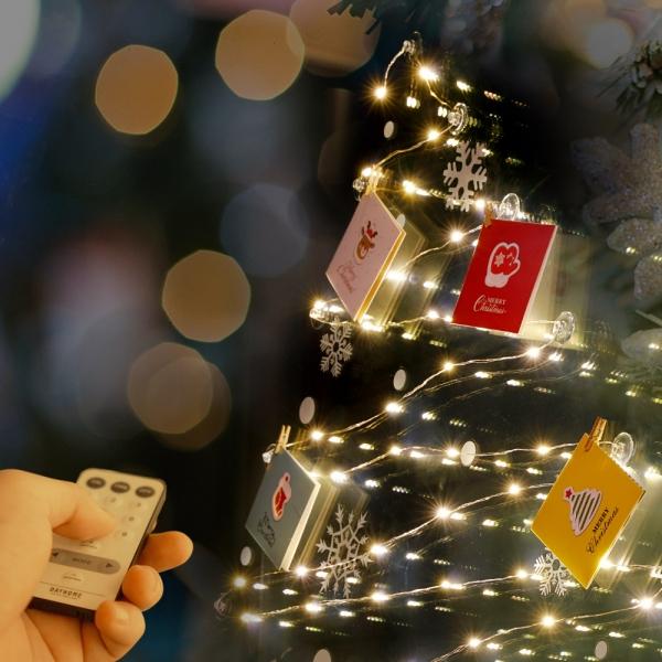 크리스마스 카드 라인듀 50구 벽트리 세트