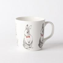 선물용 크리스탈 토끼 머그컵