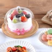 우드 글라스 케이크 돔 2size