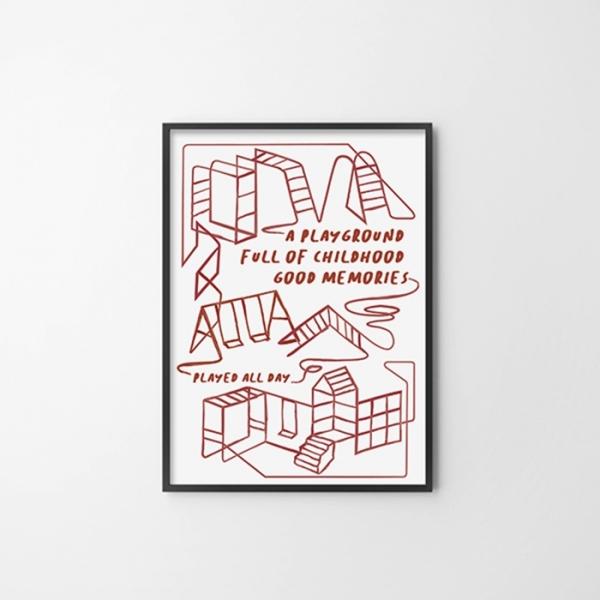 프렌치P 거실 벽 인테리어 액자 포스터
