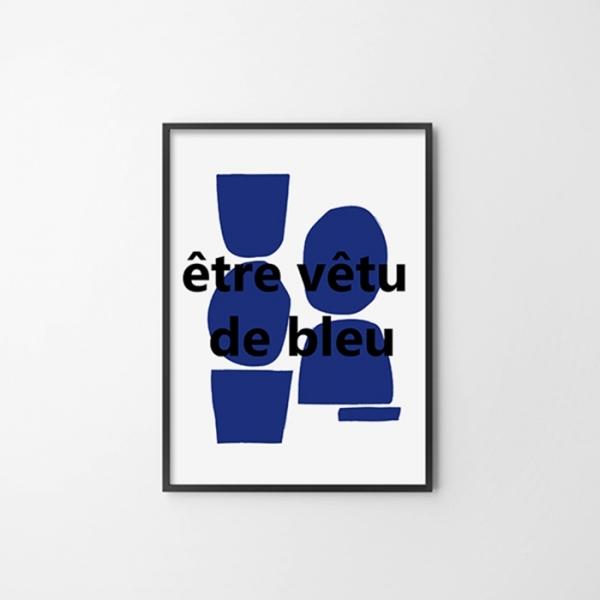 프렌치E 거실 벽 인테리어 액자 포스터