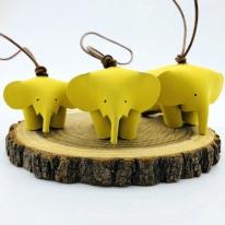 가죽 코끼리 키링