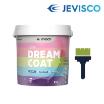 [무료배송] 드림코트 올리브 그린 0.9L 친환경 페인트
