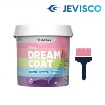 드림코트 큐피트 핑크 0.9L 친환경 페인트