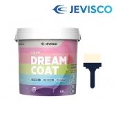 드림코트 화이트 크림 0.9L 친환경 페인트