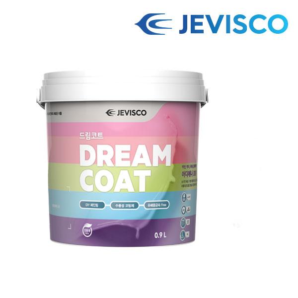 [무료배송] 제비스코 드림코트 에그쉘광 3.8L 친환경 벽지페인트