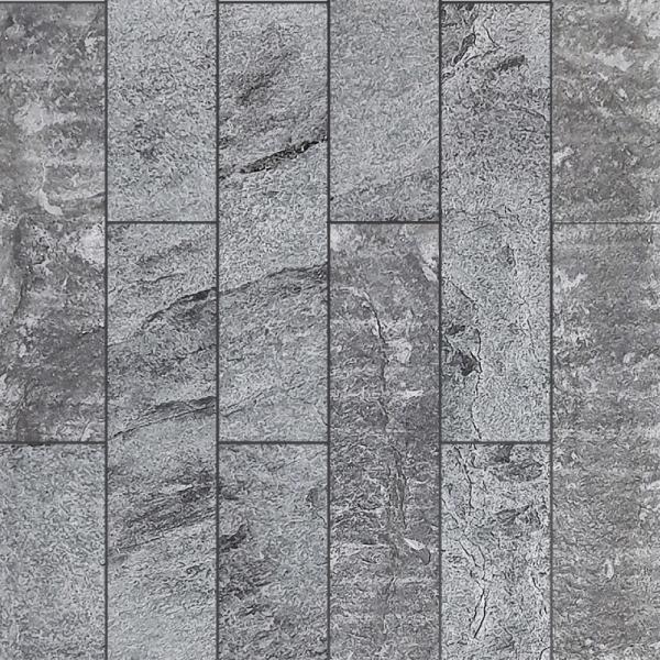 (DIY)천연석 마감 아트월 레코스톤 이지(PR-025 SILVER BLACK)