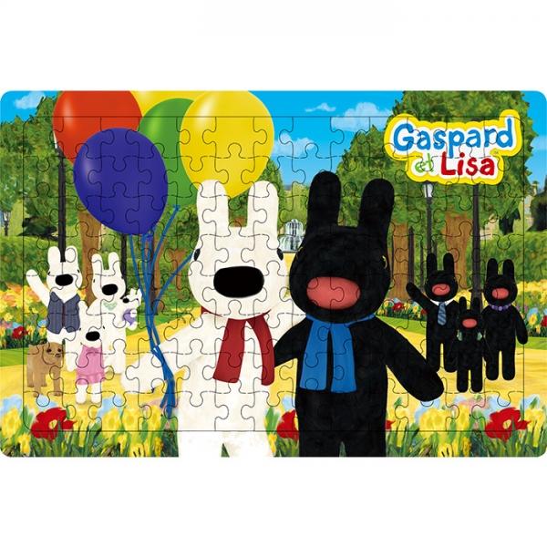 104조각 판퍼즐 - 가스파드와 리사