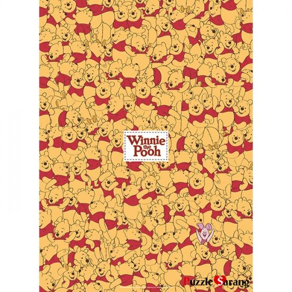 800피스 직소퍼즐 - 곰돌이 푸우 와글와글 (미니)