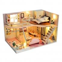 DIY 미니어처 하우스 - 핑크 메모리