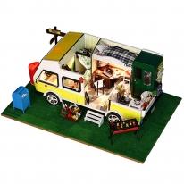DIY 미니이처 하우스 - 모던 캠핑카
